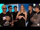 'CNCO invasion' La banda sorprende a Daniela con sus planes para 2018 ¦ Qué Crees