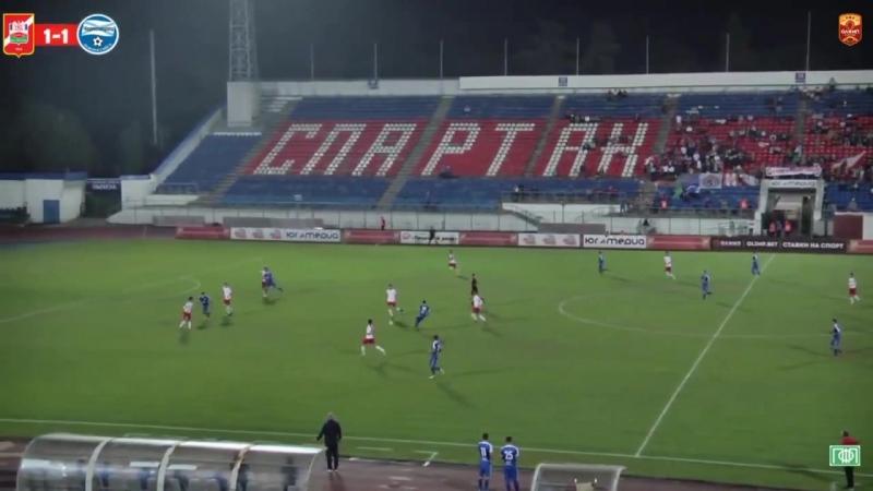 Голевая передача Манвела Агароняна в матче против Спартака Нальчика