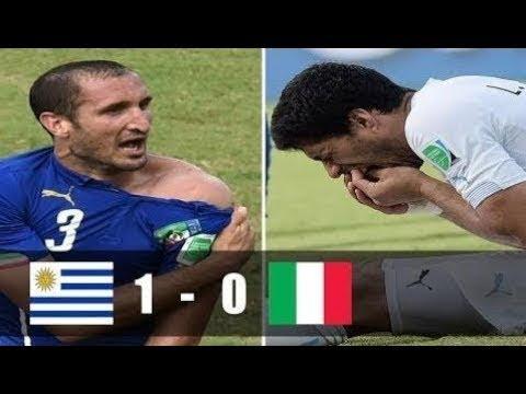 🔥 Италия - Уругвай 0-1 - Обзор Матча Чемпионата Мира 24062014 HD 🔥