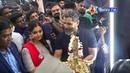 Chiyaan Vikram Mass Entry 10 Fitness laboratory Gym Launch