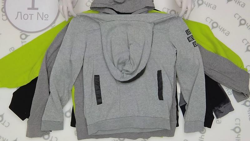 Sweatshirt with hood 1, секонд хенд оптом