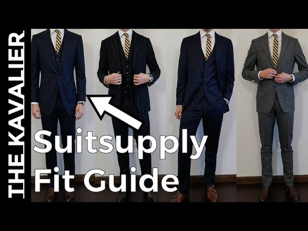 Suitsupply Suit Fit Guide - Havana, Sienna, Washington, Jort, La Spalla
