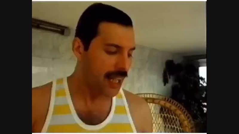 Freddie and Brian, Budapest 1986