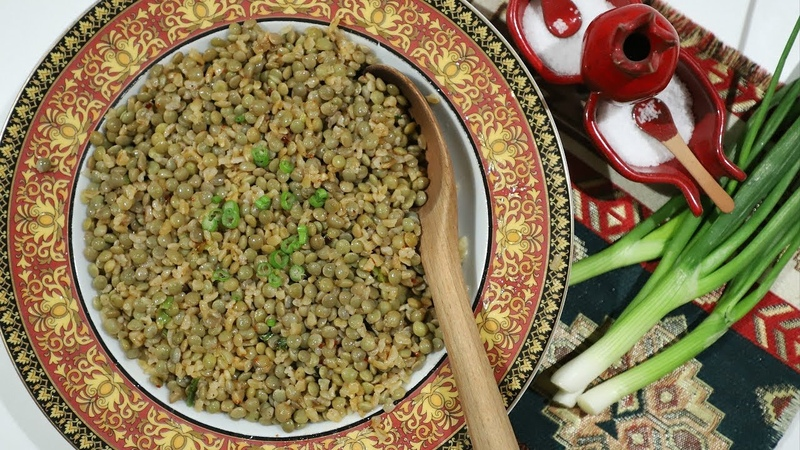 Lentil Bulgur Pilaf Recipe from Mush - Armenian Cuisine - Heghineh Cooking Show