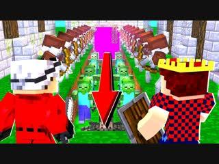 Demaster НОВЫЙ ОЧЕНЬ КРУТОЙ МИНИ РЕЖИМ НА ХАЙПИКСЕЛЕ! ТД МАЙНКРАФТ! | Minecraft Tower Defence