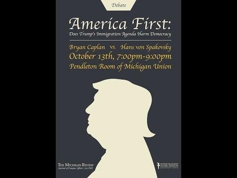 LIVE DEBATE America First Immigration Policy in the Trump Era