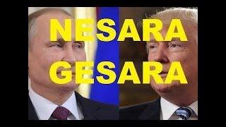 NESARA ACABOU - (Trump e Putin se reúniram em segredo)