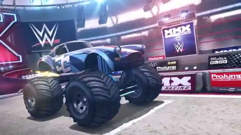WWE vs MMX Racing - Official Trailer by Hutch