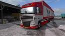 Euro Truck Simulator 2 - Обзор Daf xf 105 tandem
