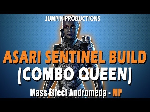 Asari Sentinel Gold SOLO Mass Effect Andromeda Multiplayer BUILD and GUIDE