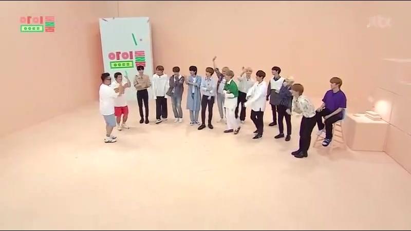 [180717] Seventeen (세븐틴) @ JTBC Idol Room 2_2