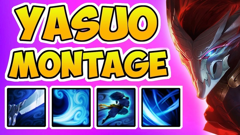 Yasuo Montage Masters of Yasuo League of Legends 2017