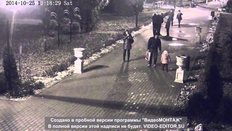 Быдлосемейка в парке Л.Н.Толстого. г. Химки