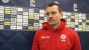 Денис Поляков сразу после матча с Сан-Марино