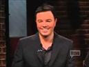 Family guy voices with Seth Macfarlane and the crew