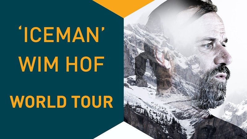 Wim Hof World Tour 2018