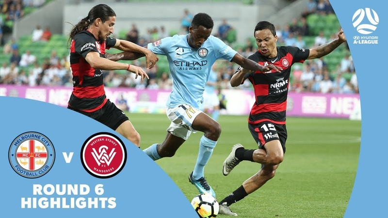 Hyundai A-League 2017/18 Round 6: Melbourne City 1 - 1 Western Sydney Wanderers