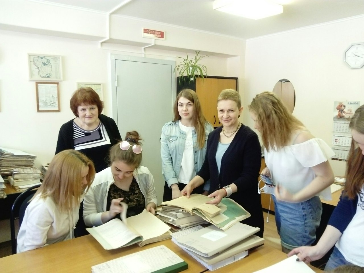 Студенты ТСЭК  посетили Тольяттинский городской архив