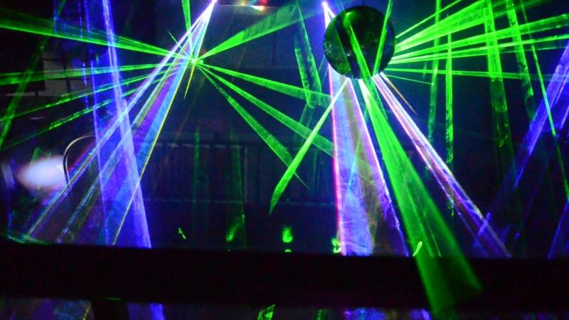 Ночь в Бинго будет яркой Проверка лазеров