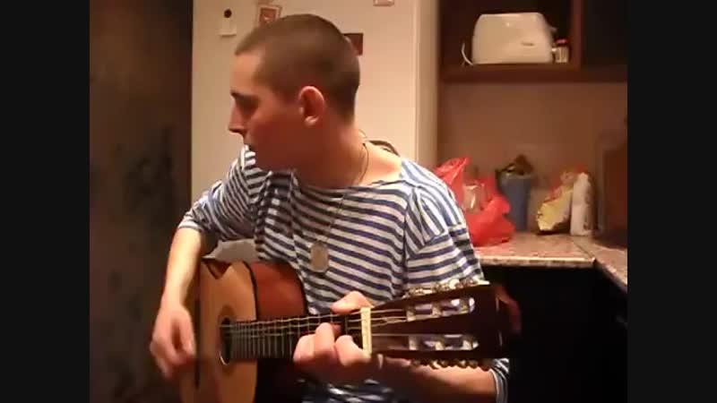 Песня под гитару - армейская - Снайперша (субтитры)