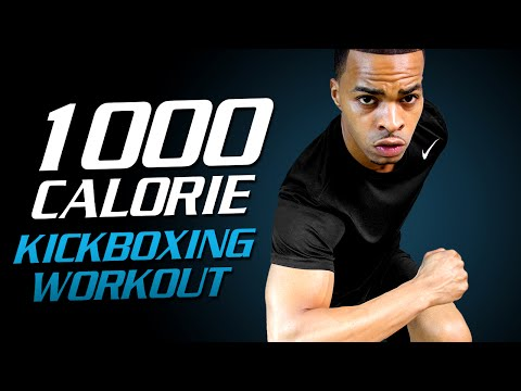 1000 Calorie Kickboxing Workout - 90 Min Extreme HIIT Workout