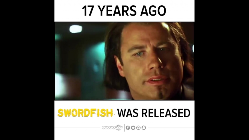 17 Years Ago Swordfish Was Released