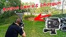 Расстрел экшн-камеры из дробовика | Сайга 12 против экшн-камеры | Action Cam VS Shotgun Saiga12