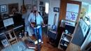 ZOOM Q2N TEST - w Fishman Loudbox Mini 3 String Cigar Box Guitar