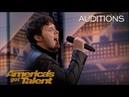 Daniel Emmet: Simon Cowell Gives Singer Impossible Challenge - America's Got Talent 2018