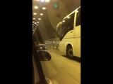 ДТП в Сочи. В тоннеле в районе Мамайки разбилась легковушка, 22.04.18