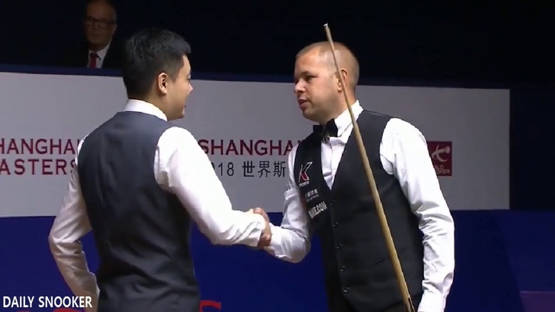 DING JUNHUI v BARRY HAWKINS (FULL MATCH) SEMI-FINAL SHANGHAI MASTERS 2018