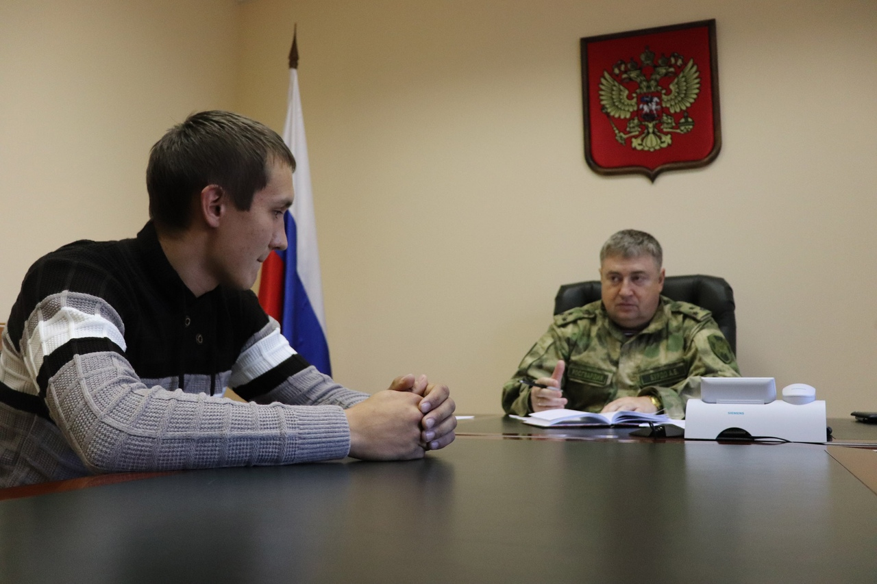 Начальник Управления Росгвардии по Марий Эл провел личный прием граждан в приемной Президента РФ
