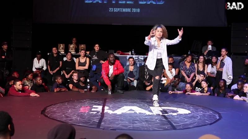 CINTIA (Bandidas) - POPPING JUDGE DEMO - Battle BAD 2018 | Danceproject.info