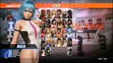 Dead or Alive 6 - New Gameplay #29 NICO vs CHRISTIE (DOA 6) - 1080p HD PS4