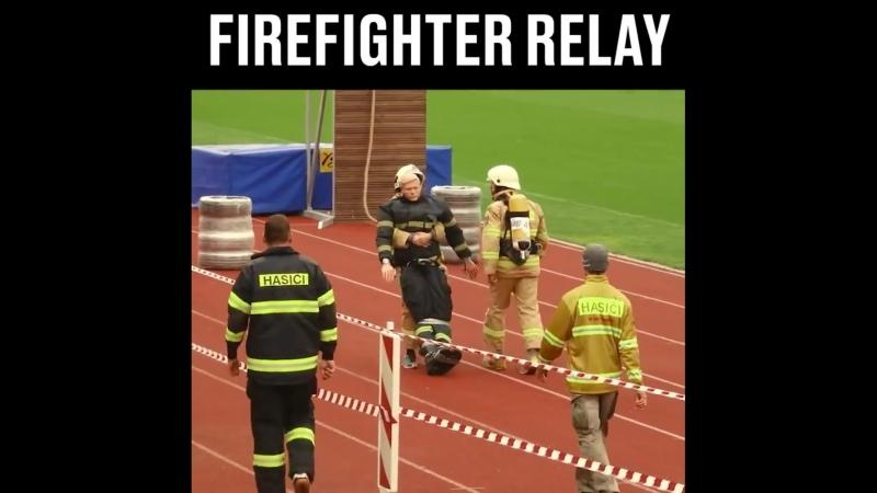 Пожарная эстафета