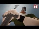 №5 РЕЛИГИЯ Христианство: мультфильм, о том как викинг попал НЕ В ТОТ рай