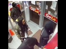 Guy Uses His Friend As Shield In Store Shooting