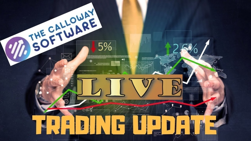 (1) The Calloway Software Update And Trading Session - Lost A Trade! Live Demonstration - YouTube