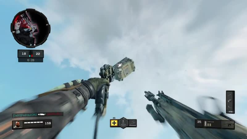 Glitchy care packages cant escape me. Black Ops 4