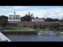Господин Великий Новгород. Вид с Торговой стороны на Софийскую.