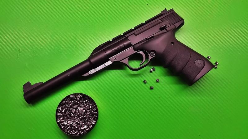 Browning buckmark urx pellet testing