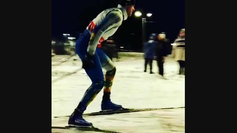 Евгений Цеков (Переславль-Залесский). Вологодские соревнования в лыжных ботинках Spine Carrera Carbon Pro 598