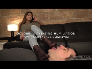Dolores's Cheating Humiliation - (Dreamgirls in Socks)