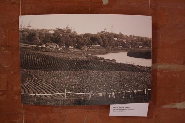 Вид на город и кремль со стороны Белого колодца Фото начала XX века