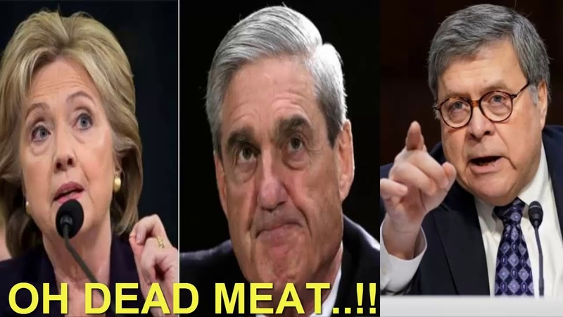 OHHHH..!! What Just GOT OUT From AG Nominee Barr Have Mueller, Hillary FBI Shaking !!