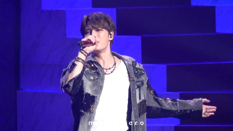 181102 김재중 JAEJOONG Hall Live Tour 2018 ~SECRET ROAD~ Defiance (Short ver.)