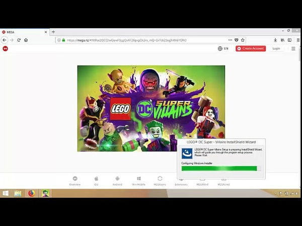 LEGO DC Super Villains PC Full version download