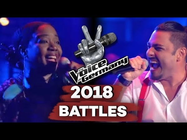Pharell Williams - Happy (Monica Lewis-Schmidt vs. Samuele Di Dio) | The Voice of Germany | Battle