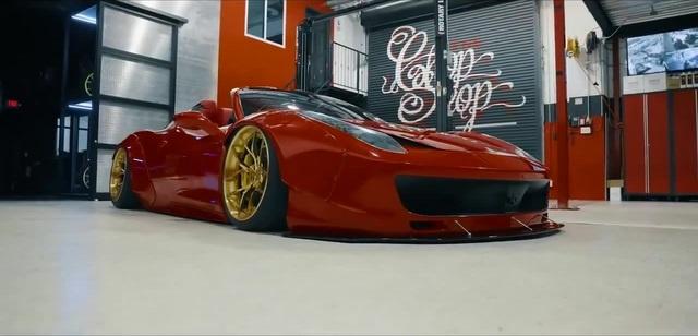 Liberty Walk Ferrari NexXthursday - Sway ft. Quavo Lil Yachty
