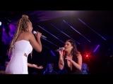 Jurnee  Lea Michele Sing Run To You - Top 24 Duets - American Idol 2018 on ABC